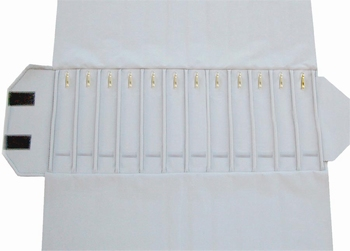 Chain-Roll,12 slots (280x46 mm)+12 Snap Hooks+elastic bands.