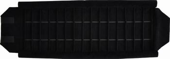 Marmotte pour bracelets, 15 cases (220x37 mm) + élastiques