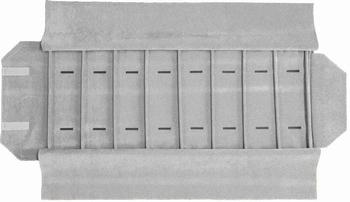 Marmotte montres larges, 8 cases (280x72 mm) + élastiques
