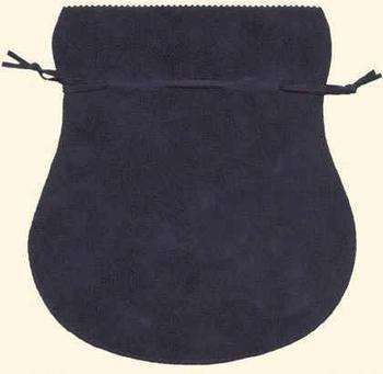 Sachet en coton flocké (180x190 mm)