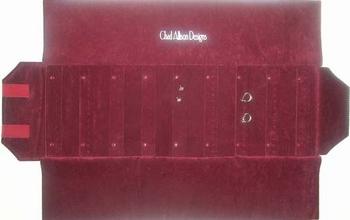 Rouleau pour b. d'oreilles, 9 bandes avec boutons pressions.
