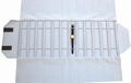 Rolle für Uhren, 12 Fächer (240x46 mm) + Gummibänder