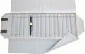 Rolle für Uhren, 15 Fächer (240x37 mm) + Gummibänder