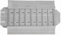 Rouleau montres larges, 8 cases (280x72 mm) + élastiques