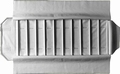 Rouleau  montres larges, 10 cases (280x54 mm) + élastiques