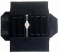 Rolle für Uhren, 6 Fächer (240x46 mm) + Gummibänder